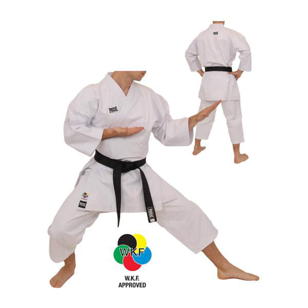 Picture of WKF kata karate kimono
