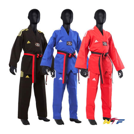 Picture of adidas Champion taekwondo dobok u bojama