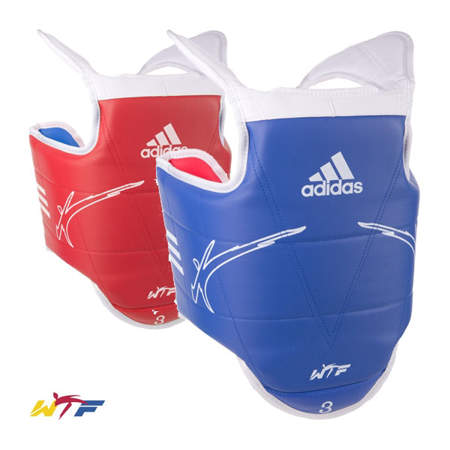 Picture of adidas WTF taekwondo body protector for children and youth
