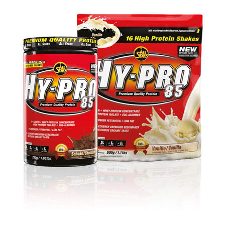 Picture of All Stars Hy-pro 85, 4-component protein shake