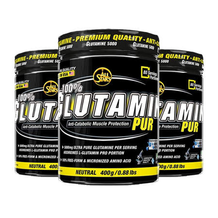 Picture of All Stars Glutamine 100% Pur - anti-catabolic protection for muscles