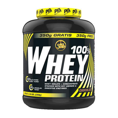 Picture of All Stars Whey protein 100%, 2350 g.