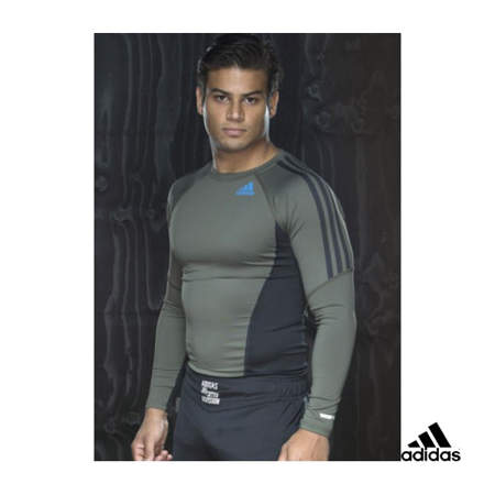 Picture of adidas MMA/BJJ exclusive long sleeve Rashguard shirt