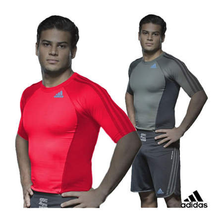 Picture of adidas MMA/BJJ exclusive rashguard t-shirt