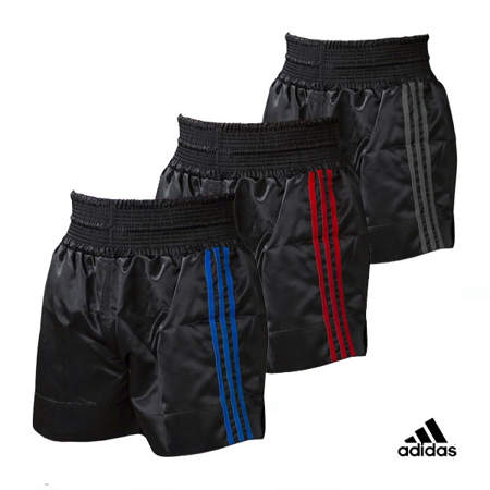Picture of adidas trunks for kickboxing, Thai boxing, MMA and boxing