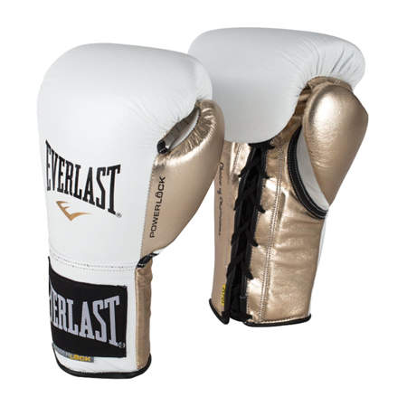 Picture of Everlast Premium Powerlock™ professional boxing gloves for matches