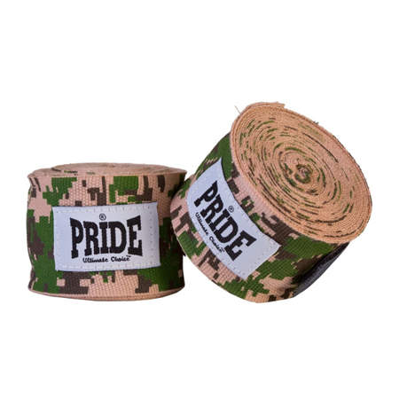 Picture of Hand wraps, elastic with a camouflage design