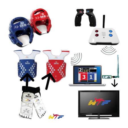 Picture of Iznajmljivanje Daedo elektronskog sustava za bodovanje na taekwondo natjecanjima