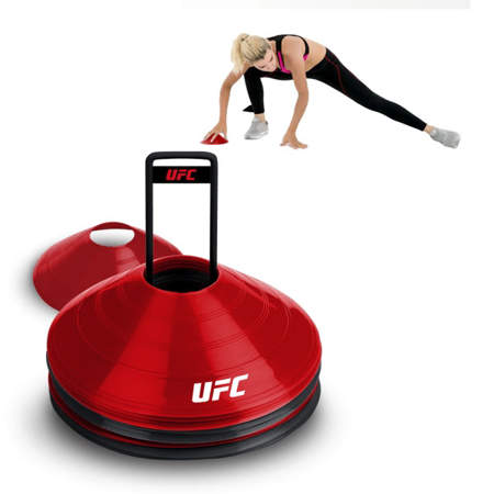 Picture of UFC exercise area markers