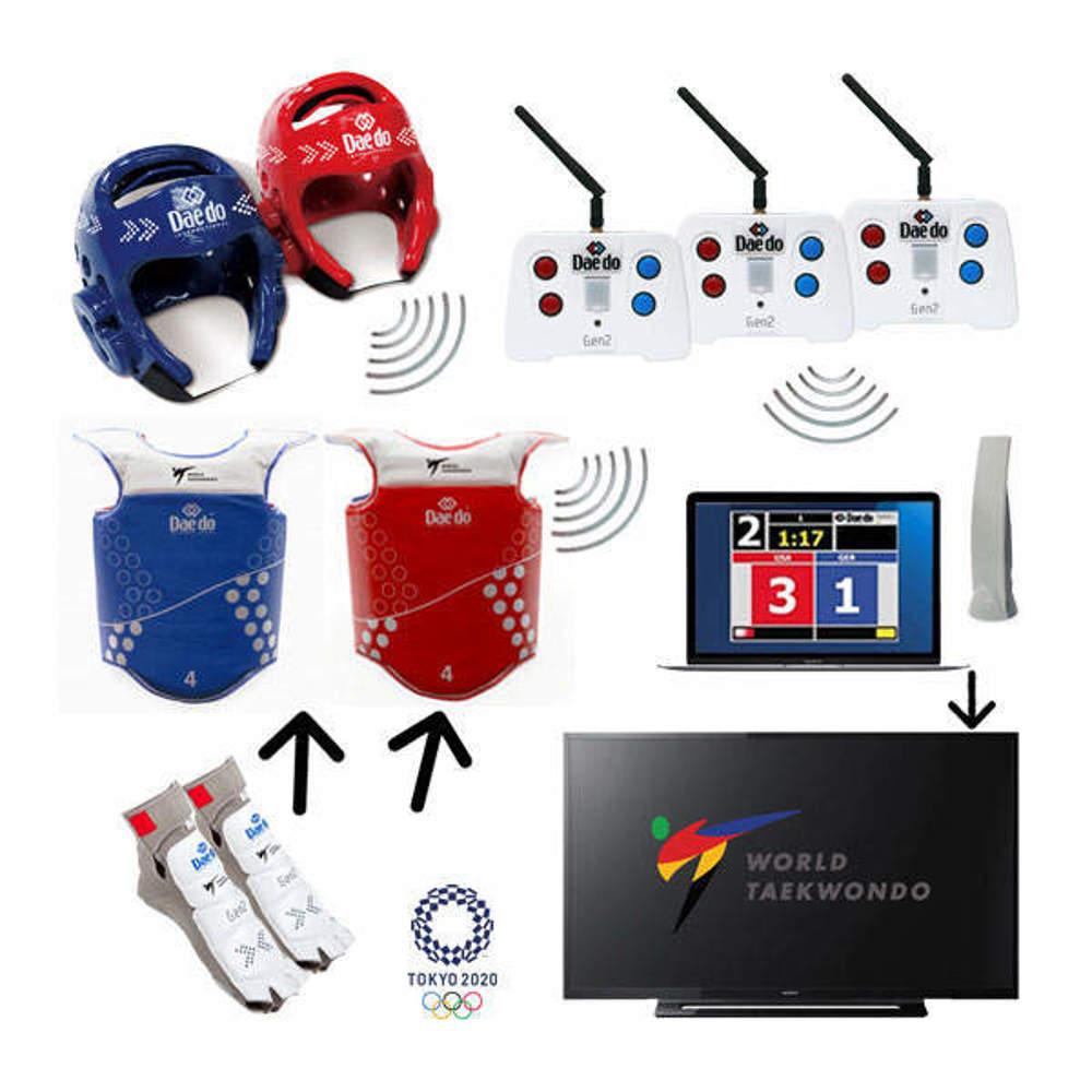 Picture of Iznajmljivanje Daedo GEN2 elektronskog sustava za bodovanje na taekwondo natjecanjima
