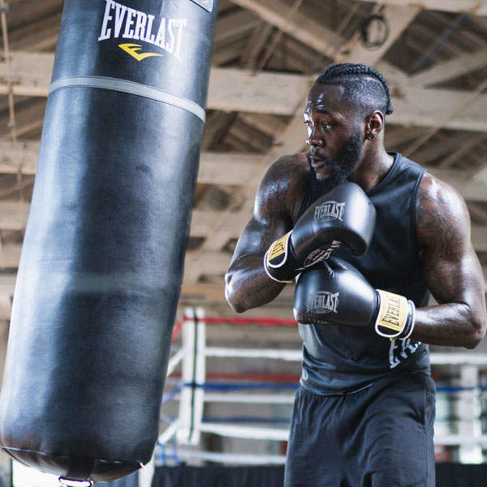 Picture of Wilder's training