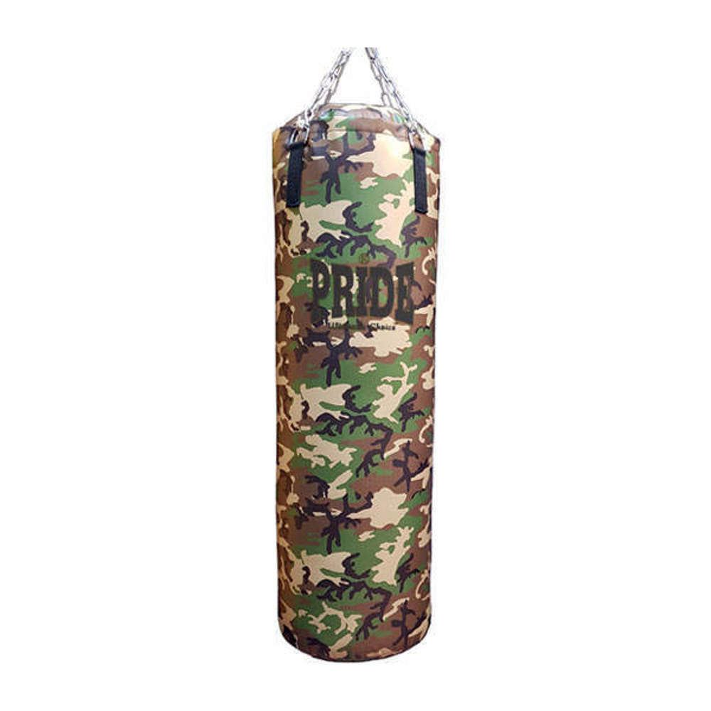 Picture of PRIDE maskirna prof. vreća za udaranje Camouflage Woodland puna