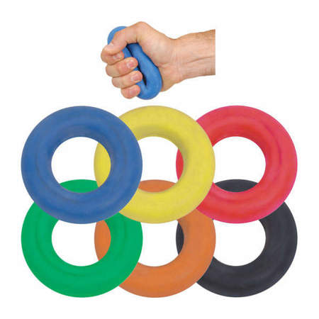 Picture of Rubber rings for strengthening the hand grip and forearm muscles